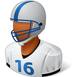 Footballplayer Male Dark