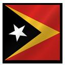 East Timor flag-128