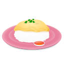 Omelet and Rice-128