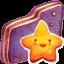 Starry Violet Folder icon