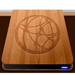 Wooden Slick Drives Server