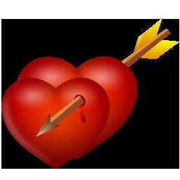 Arrow And Hearts