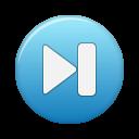 button blue last