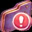 Important Violet Folder icon