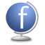 Facebook Globe icon