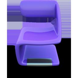 Purple Seat