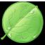 Message round icon