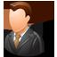 Client Male Light icon