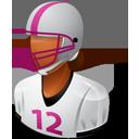 Footballplayer Female Dark-128