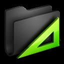 Applications Black Folder-128
