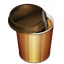 Hot Coffee Plastic Glass icon