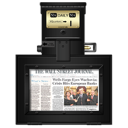 Newstand Black and Gold