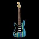 Stratocastor Guitar Stripes-128