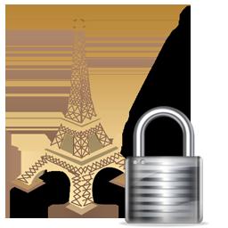 Eiffel Tower Lock