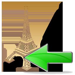 Eiffel Tower Back