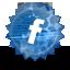 Facebook grunge icon