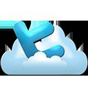 Twitter cloud-128