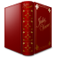 Jules Verne Book Icon