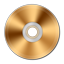 Gold CD icon