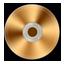 Gold CD Icon