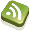 RSS Feed Green icon