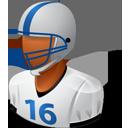 Footballplayer Male Dark-128