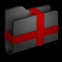 Package Black Folder