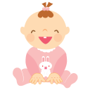 Baby Girl Laughing-128