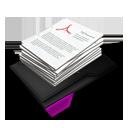 My Documents Pile Purple-128