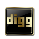Digg Black and Gold-128