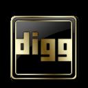 Digg Black and Gold-128