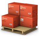 Red Cargo Boxes-128