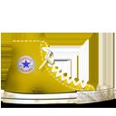 Converse Yellow dirty-128