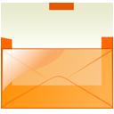 Mail orange-128