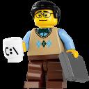 Lego Computer Guy-128