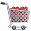 Shopping Cart Full Of Gifts icon