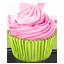 Pinky Cupcake icon