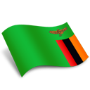 Zambia Flag-128