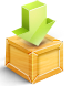 3D Download Icon