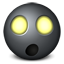 Radioactive emoticon Icon