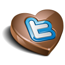 Twitter heart chocolate-128