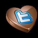 Twitter heart chocolate-128