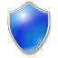 Shield blue Icon