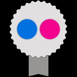 Badge Flickr