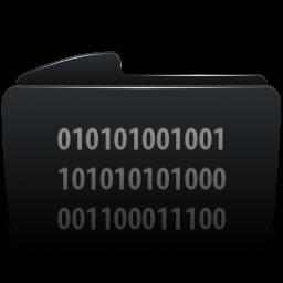Folder black byte