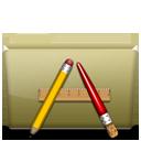 Folder Application Brown-128