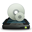 CD ROM Drive 3D icon