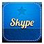 Skype retro icon