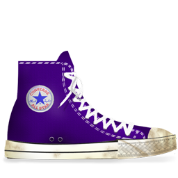 7ed8c8b63bd4 Converse Lila dirty Icon