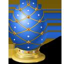 Blue Easter Egg-128